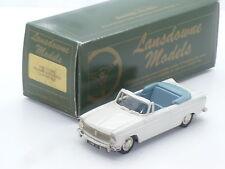 New 1:43 Lansdowne Models LDM13 1963 Hillman Superminx Cabrio Handbuilt Brooklin