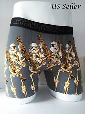 Disney Star Wars StormTrooper Skeleton Boxer Brief Underwear Mens Size L