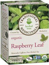Traditional Medicinals Organic Herbal Tea Bags, Raspberry Leaf 16 ea