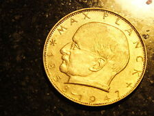 """2 DM moneta commemorativa """"Max Planck"""" di 1969 G"""