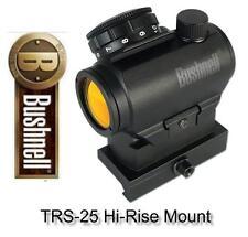 Bushnell AR731306 TRS-25 3 MOA Red Dot Sight w/Hi-Rise Mount Shotgun Rifle