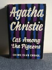 Cat Among The Pigeons Agatha Christie 1959 1st Ed Hardcover With Dust Jacket