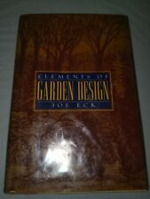 Elements of Garden Design by Joe Eck (1996, Hardcover) coffee table book