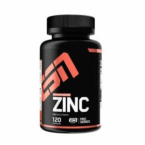 ESN Zinc Zink 10,31€/100g hochdosiert 120 Kapseln Mineralien