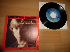 """Christian Anders - Was Wird Nach Dieser Nacht *SEHR GUT* TOP SCHLAGER 7""""***"""