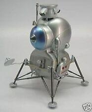 LK Lunar Craft Moon Lander Spacecraft Mahogany Kiln Dry Wood Model Small New