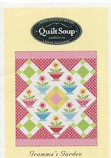 Gramma's Garden ~ Quilt Quilting Pattern ~ by Quilt Soup