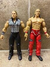 🔥LOT OF 2 Jakks Pacific Shawn Michaels HBK WWE Referee Variant BEST DEAL!🔥