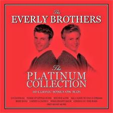 THE EVERLY BROTHERS - PLATINUM COLLECTION - 60 CLASSIC SONGS (NEW SEALED 3CD)