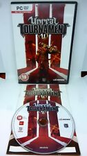 PC DVD Unreal Tournament Midway Epic Games 2007 PC Game