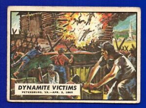 DYNAMITE VICTIMS 1962 TOPPS CIVIL WAR NEWS #86