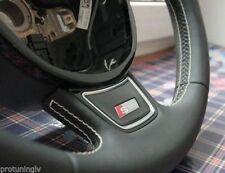 S Line Volante Placa para Audi A1 A3 A4 A5 A6 A7 Q3 Q5 Pegatina con Logotipo