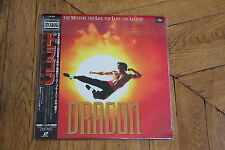 Dragon: The Bruce Lee Story (1993) Laserdisc LD OBI WS JAPAN NTSC PILF-91828