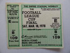 More details for liverpool vs nottingham forest   league cup final stub   1977/1978   unused