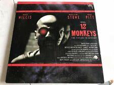 12 Monkeys - Vintage Laserdisc Movie - Brad Pitt, Bruce Willis
