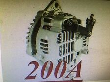 HIGH OUTPUT FOR MAZDA RX-7 R2 1.3L 1308cc 93 94 1995 NEW ALTERNATOR 200 HIGH AMP