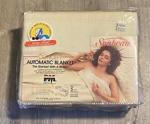 NOS Vintage Sunbeam Concept Automatic Heating Blanket. Twin Personal Monitoring