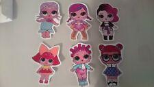6 lol dolls PHOTO WALL STICKER WALL DECAL