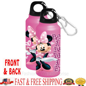 Disney Aluminum Water Bottle Sassy Hearts Minnie Water Bottle WideMouth Original
