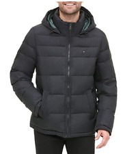 Tommy Hilfiger Mens Classic Hooded Insulated Puffer...