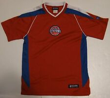 L Youth VF Imagewear Exclusive Collection Detroit Pistons NBA Jersey Shirt large