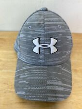 Under Armour Hat Gray Youth Sm/Md Small Medium Fitted Kids