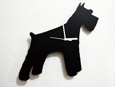 Giant Schnauzer Dog Silhouette - Wall Clock