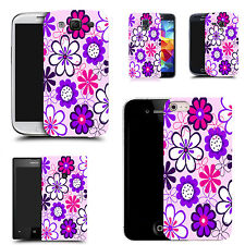 Motif case cover for All popular Mobile Phones - purple daisy