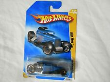 Hot Wheels 2009 New Models Mid Mill Black Blue #012/190 New In Box Collectible O