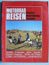 Nitschkes Motorrad Reisen, 2.1984 - Touren, Ausrüstung, Technik