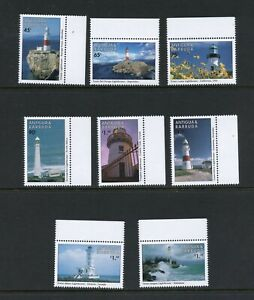 C327  Antigua 1998   lighthouses   8v.      MNH
