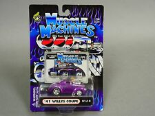 Muscle Machines 1933 FORD COUPE PURPLE 1/64 Diecast #rs1