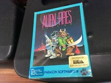 Alien Fires 2199 AD Commodore Amiga Game W/ Original Box & Booklet See Pics!