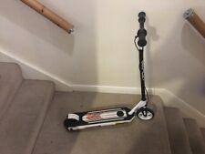 Zinc Volt XT 30W Childrens 2 Wheeled Electric Scooter - Black and White