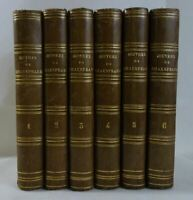 Oeuvres complètes de SHAKESPEARE tomes 1 à 6 CHARPENTIER 1860 RELIURES Laroche
