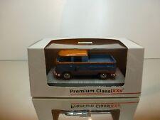 PREMIUM CLASSIXXS VW VOLKSWAGEN T1 KUNDENDIENST - BLUE 1:43 - EXCELLENT IN BOX