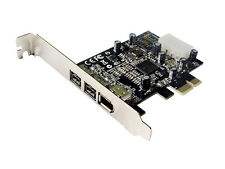 Combo 2x 1394b + 1x 1394a Firewire Ports PCI-Express Controller Card, TI Chipset