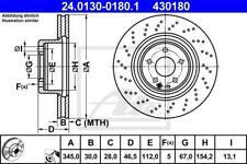 1X BRAKE DISC ATE - TEVES 24.0130-0180.1