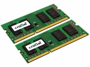 Crucial RAM upgrade kit for Macbook Pro Early 2010 8GB (2 x 4GB)