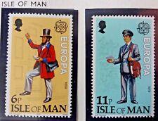 2 X Timbre Stamp Ile de Man Isle of Man 1979 YT 135 136 EUROPA CEPT Neufs