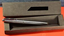 """Inoxcrom"" Zeppelin Flash Gun metal CT(Chrome Trims) Made in Spain Fountain Pen"