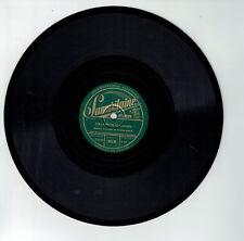 78T 25cm Solo Vocal Orchestre Disque LA ROUTE DE LOUVIERS Bruant SAMARITAINE 131