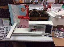 Husqvarna Viking Designer Diamond Royale Sewing/Embroidery New Machine used EMB
