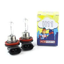 2x H11 55w Clear Standard Halogen Xenon HID Front Fog Lamp Light Bulbs Pair
