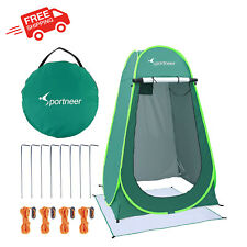 New listing Camping Shower Tent Pop Up Portable Changing Dressing Room Shelter Privacy New