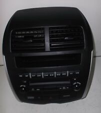2011 11 MITSUBISHI OUTLANDER 6 DISC CD STEREO CONTROLLER CLOCK HAZARD SWITCH
