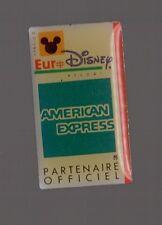 Pin's Disney / Partenariat Eurodisney - American Express