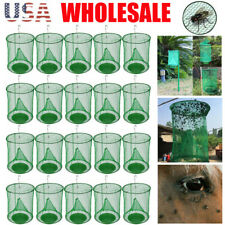 The Ranch Fly Trap Outdoor Fly Trap - Killer Bug Cage Net Perfect For Horses Lot