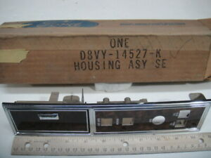 NOS Genuine Ford 1977 78 79 Lincoln Continental Window Seat Switch Housing Tray