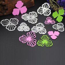 3pcs Flower Cutting Dies Stencils DIY Scrapbook Album Embossing Card Paper Craft
